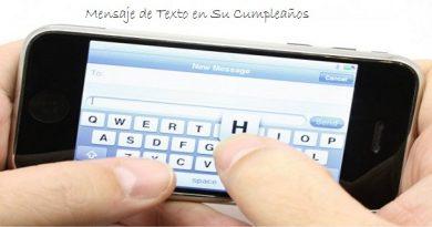 Mensaje de Texto a Mi Ex en Su Cumpleaños