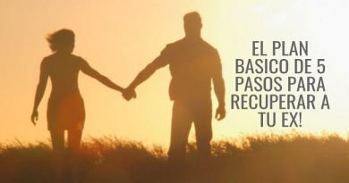 Plan Basico De 5 Pasos Para Recuperar a Tu Ex!